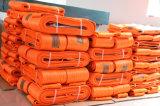 2018 El poliéster Eslinga redonda 10t*5m de color naranja con Ce/GS