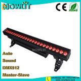 RGBW lineal de alta potencia LED Bañador de pared