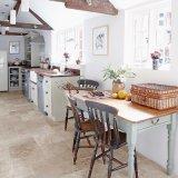 Pavimentazione di superficie di ceramica delle mattonelle del vinile per la stanza della cucina