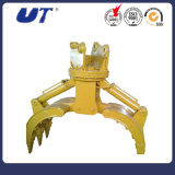 A máquina escavadora hidráulica das peças sobresselentes da maquinaria luta