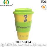 Tasse à café en fibre de bambou Eco-Friendly personnalisée Mug de voyage (HDP-0424)