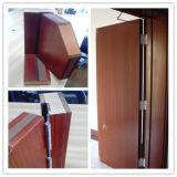 Porte évaluée solide d'incendie en bois avec 30/60/90/120 nomenclature Trada de mn