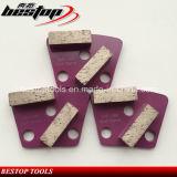 16# het ruwe Malende Blok van het Trapezoïde van de Band van het Gruis Zachte Concrete
