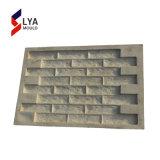 Panneau de placage de pierre de béton mur artificiel en caoutchouc de moule