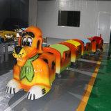 Venta caliente Trackless eléctrico Sensor de luz Rider tren perro