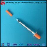 Medische Beschikbare Steriele Spuit u-100 van de Insuline