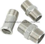 Différentes pièces d'ajustage de précision de pipe de bâti de précision de constructeur OEM
