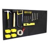 Стеллаж для выставки товаров пола Pegboard супермаркета оборудования выставки для електричюеских инструментов