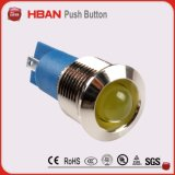 14mm Diaの防水黄銅LEDの照明ランプ