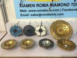 Les roues de la Coupe du diamant Romatools rempli de résine
