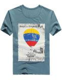 신식 형식 면에 의하여 인쇄되는 편리한 남자 t-셔츠