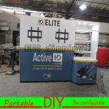 Cabina estándar de aluminio reutilizable versátil portable de la exposición