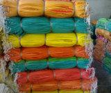 Saco tecido PP do plástico da cor da alta qualidade da fonte de China