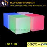 Vierkante Stoel van de LEIDENE Verlichting van het Meubilair de Kleurrijke