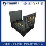 HDPE 1200X1000 faltbares industrielles Ladeplatten-Sortierfach mit Kappe