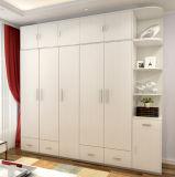 Schlafzimmer-hölzerne Garderoben-einfache Entwürfe
