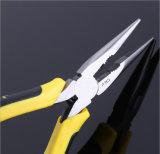 Плоскогубцы носа оптовых плоскогубцев изоляции острые с ручкой 8inch & 6inch