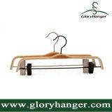 Casa de moda usar la madera contrachapada perchero con gancho de Matel