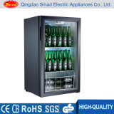 98L Tabletop Mini Glass Door Display Fridge Showcase