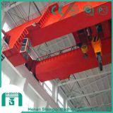 Grúa de arriba de la capacidad de la viga grande del doble para la planta siderúrgica