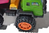 Camión Mezclador de correderas de metal Mini carretilla carretilla Concerte de plástico de juguete Juguetes Camión Mezclador de juguete para la venta