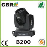 Gbr Philips 200W/Osram 230W 광속 이동하는 맨 위 빛
