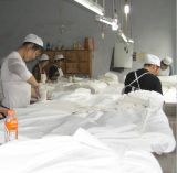 tela tejida teñida algodón 100pct