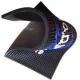 Diseño personalizado en relieve de logotipo Soft PVC barra ferroviaria tapete