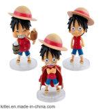 O japonês um do projeto de OEM/ODM remenda o Figurine do plástico do caráter
