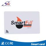 Tarjeta escribible modificada para requisitos particulares del acceso del PVC de RFID 13.56MHz frecuencia intermedia S50 Uid