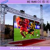 Écran de location extérieur/d'intérieur du coulage sous pression P6 d'Afficheur LED pour la publicité de vidéo (640X640, CE, RoHS, FCC)