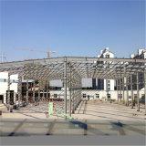 큰 경간 강철 구조물 작업장