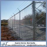 튼튼한 Black Color 및 Security를 위한 Galvanized Wire Chain Wire Fence