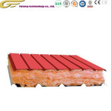 L'isolation thermique la laine de verre ignifuge Sandwich panneau de toit