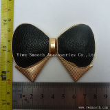 Design de mode de gros de l'émail Bowknot boucle métallique de forme pour vêtements