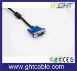 1.5m mannelijk-Mannetje Van uitstekende kwaliteit 3+4/3+6 VGA Kabel voor Monitor/Projetor (J002)
