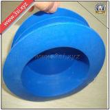 Enchufes y protectores plásticos amarillos (YZF-C46) del extremo de tubo de acero de carbón
