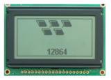 青の背部白い文字のStn Sigment LCDの表示