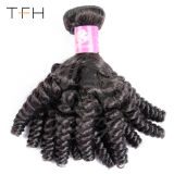 Бразильские волосы вьются вьющиеся локоны соткать Фунми Тогону человеческого волоса пакеты расширений короткий Боб стиль не Реми расширений волос естественный цвет