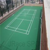 Het hoge Hof van Spu van het Hof van het Badminton van het Kussen Openlucht