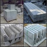 Granit-Treppenhaus, Jobstepp mit Gleitschutzstreifen für Außenseite