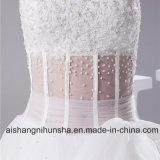 Новые поступления свадебные платья тюль прозрачных Sexy веревку на талии