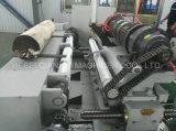 Tour rotatoire d'écaillement de placage de Spindleless de bois dur pour le bois en caoutchouc