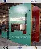 1200 ton Pers van de Plaat van de Vulcaniserende voor de Grote RubberProductie van Matten