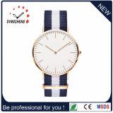 Dw reloj de estilo reloj de pulsera de cuero genuino reloj de los hombres (DC-297)