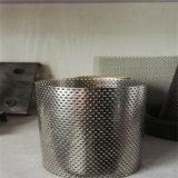 304 316 câmaras de ar de filtro perfuradas do aço inoxidável