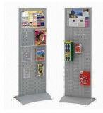 4 couches de la publicité de vin produit métallique Floor-Type Cuisine Spice Rack d'exposition à bille d'affichage