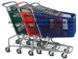 Los más populares de plástico Americana Carrito de compras el carro con Heavy Duty