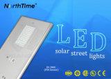 de contrôleur contrôlé du smartphone 80W lampes solaires complètes de Streer MPPT