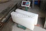 Heiße Kapazitäts-Block-Eis-Maschine des Verkaufs-5000kg pro Tag für Elfenbeinküste